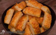 Sajtos rúd kelesztés nélkül recept fotóval Hot Dog Buns, Cornbread, Cake Recipes, Muffins, Snacks, Baking, Ethnic Recipes, Sweet, Food