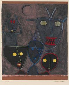 Paul Klee - Marionette demoniache (1929)
