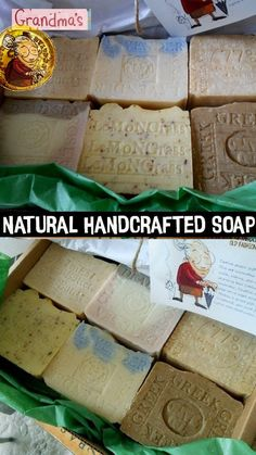 """Gift -Natural Artisan Six Bar Gift Set Soaps Limited Edition Soap hand stamped. Six Bar Gift Set Soap .That is a great way to try different scent, stock up or share with your loved ones these amazing soaps are all """"Natural"""" 7 to 8 oz each bar Soap Making Recipes, Homemade Soap Recipes, Best Bar Soap, Bar Gifts, Beauty Soap, Cool Bars, Home Made Soap, Handmade Soaps, Early Spring"""