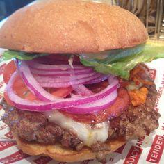 The Miami Burger at Smashburger in Boynton Beach, Florida