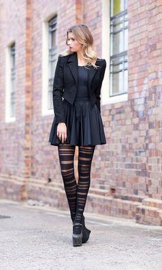 Barcode Hosiery - LIMITED – Black Milk Clothing OSFA 40 AUD