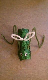 egg carton grasshopper