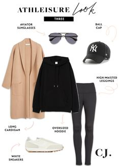 As we head into the weekend, I wanted to share 5 of my go-to athleisure looks. These looks are super comfortable but when wearing you will look pulled together as you run errands, go on family outings and do all of the weekend things! Look Athleisure, Athleisure Outfits, Athleisure Fashion, Oufits Casual, Casual Outfits, Comfy Casual, Fall Winter Outfits, Autumn Winter Fashion, Komplette Outfits