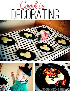 Mickey Mouse Birthday Party - such cute ideas!  Love the 'Tootles' thank you bag & cookie decorating.