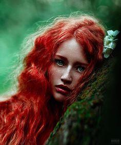 gyclli:redhead.. by Светлана Беляева   500px.com