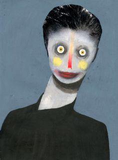 Taiwan September 2013 by Guim Tió Zarraluki, via Behanc Creepy Art, Weird Art, Arte Horror, Horror Art, Psychedelic Art, Surreal Art, Portrait Art, Art Inspo, Amazing Art