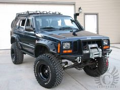 Jeep Square Body Cherokee. Lifted, Snorkeled, Winched,  Ready To Rock!!! I think this is perfect for you tyler...