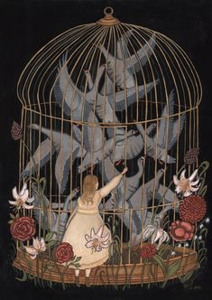 GOLDEN CAGE BY KELLY LOUISE JUDD