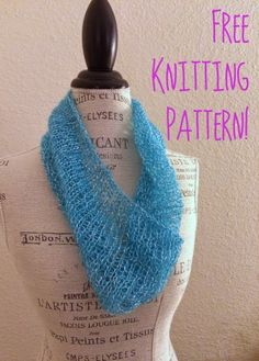 """Easy knit cowl - Be Sweet Grace+ Style yarn, 1 skein, US 11 circular 16 or 24"""" needles. Cast on 82, knit every round."""