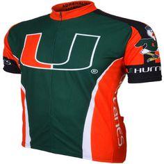 Miami Hurricanes Bike Jersey