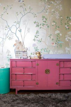 The oriental wallpaper