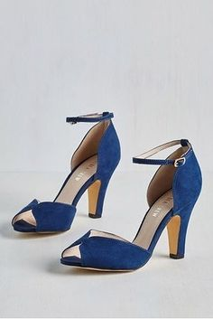 These gorgeous peep-toe heels that also come in some bright colors like bubblegum pink.   36 Pairs Of Heels That Won't Hurt Your Feet