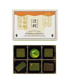 <辻利>の茶匠がチョコレートに合う宇治抹茶を厳選しました。創業萬延元年(1860年)、宇治茶の礎を築いた初代・辻利右衛門の志を受け継ぐ宇治の老舗<辻利>から、新しいお茶のかたち、辻利ショコラコレクションをバレンタイン限定でお贈りします。 Label Design, Packaging Design, Cool Designs, Packing, Branding, Layout, Japanese, Chocolate, Creative