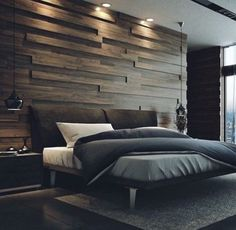 51 Relaxing and Romantic Bedroom Decorating Ideas for New Couples is part of Modern bedroom interior - Thus, it's essential that you think about relaxing and romantic bedroom decorating ideas for couples that will merge two unique […] Bedroom Lamps Design, Modern Bedroom Design, Master Bedroom Design, Bed Design, Home Decor Bedroom, Home Interior Design, Contemporary Bedroom, Bedroom Designs, Modern Bedrooms
