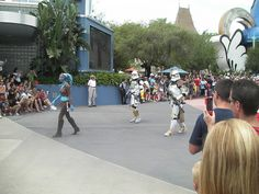 Star Wars Parade     #Star Wars# is one of the finest motion pictures ever, so why wouldn't you have a very