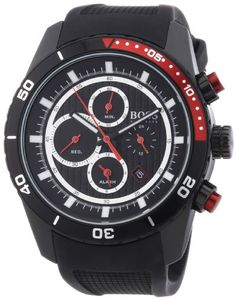 online shopping for Hugo Boss Black 1512661 Black Round Chronograph Rubber Strap Men's Watch from top store. See new offer for Hugo Boss Black 1512661 Black Round Chronograph Rubber Strap Men's Watch Watches For Men Unique, Vintage Watches For Men, Cool Watches, Men's Watches, Fashion Watches, Stainless Steel Polish, Black Stainless Steel, Hugo Boss Watches, Watch Cases For Men