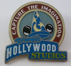 Pin: Hollywood Studios pin from the 2010 season passholder exclusive set, A World of Wonderment. (Style looks like vintage World's Fair ads of the early 20th century.)