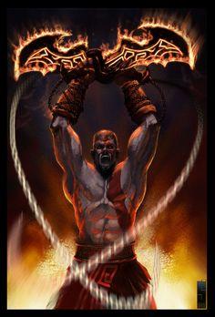 Kratos by saadirfan on deviantART