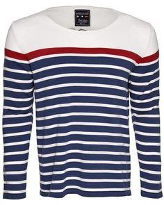 Giorgio Di Mare Striped 100% Cotton Pullover Made in Spain #Pullover #Men #ShirtsSweaters