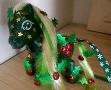 Custom my little pony Christmas Holly inspired