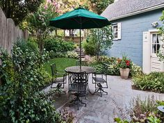 Great Sitting Backyard Ideas For Small Yards