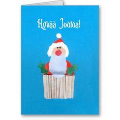 Finnish Christmas 'Cupcake with Santa' Card: £2.85 $3.50 #christmas #santa #cupcake http://www.zazzle.co.uk/finnish_christmas_cupcake_with_santa_card-137641674136005332?type=greetingcard&view=113593432953444580&rf=238041988035411422