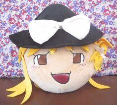 Rare New Yukkuri Fuwafuwa Marisa Touhou  Plush Toho 10.2inch  Doll JAPAN
