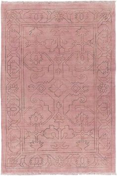 Surya Wilmington WLG-9001 Rose Hand Loomed Area Rug – Incredible Rugs and Decor