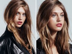 Hair Inspiration: Artfully Disheveled with A No-Part Part