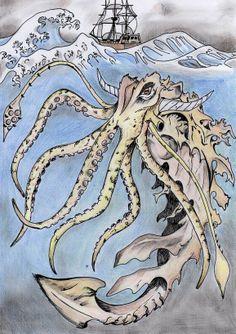 Le Kraken, terreur des grands-fonds