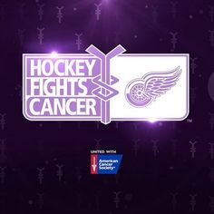 What it's all about. | @americancancersociety @detroitredwings | #wingsfightcancer #hockeyfightscancer #lgrw