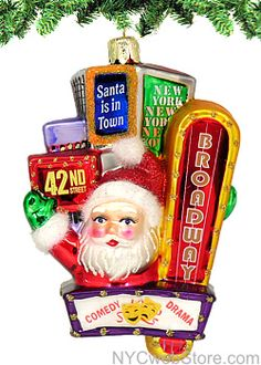 114 Best New York Christmas Ornaments Images In 2019 New