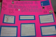 Differentiation Through Student Choice: Math Integer Project