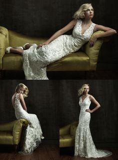 Lace Wedding Gown I Lace Bridal Gown I Allure Bridals (8800F) I Available at Brides of Melbourne