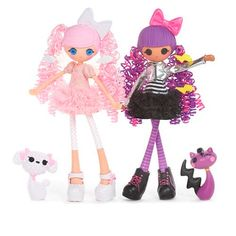 """Lalaloopsy Girls Doll 2-Pack - Cloud E. Sky and Storm E. Sky - MGA Entertainment - Toys """"R"""" Us  Violet wants these. I have not even seen them."""