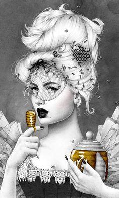 Queen Bee 2 by Morgan Davidson
