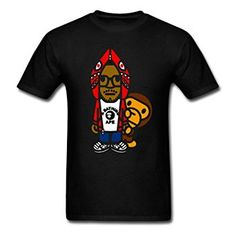 Amazon com Kid Cudi Bape Baby Milo YEGOU Outdoors Men 39 s T Shirt Clothing
