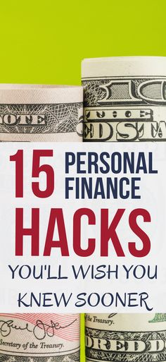 CHECK OUT these 15 money management hacks. If you like small actions that lead to big results, you'll love this. personal finance hacks   money management tips   life hacks   money hacks #moneytips #financetips #FinancialTips