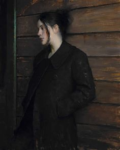 Jeremy Lipking Waiting     I love the feel of this i can almost feel myself in it.