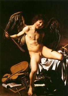 Eros (em grego Ἔρως; no panteão romano Cupido) era o deus grego do amor. Hesíodo, em sua Teogonia, considera-o filho de Caos, portanto um deus primordial.