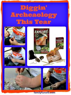 Cool Lesson Plan at bottom of page for Archaeology and Paleontology. Lots of Fun!