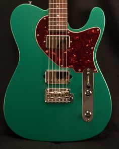 Suhr Classic T Sherwood Green Metallic Electric Guitar