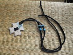Iron cross suede wrapper by valkirytails on Etsy, $30.00
