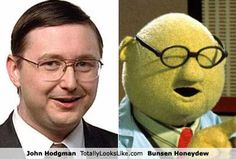 John Hodgman Totally Looks Like Bunsen Honeydew