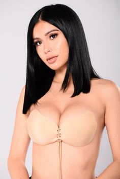 c7d36883489bf Pull Them Close Invisible Bra - Nude. CloserSticky BraPush Up ...