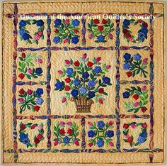 """The Third place winner in the 'Minature Quilts' category at the 2005 AQS Paducah show - """"YELLOWLICIOUS"""" by Diane Lane, WICHITA, KS, USA."""