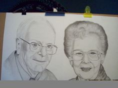 my parents....gift for my mom's 92nd