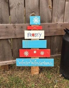 Excited to share this item from my shop: Rustic Wooden Christmas Tree / Wooden Pallet Christmas Tree / Pallet Tree / Frosty sign / Winter Wonderland Sign / Christmas decor Wooden Pallet Christmas Tree, Pallet Tree, Wooden Christmas Decorations, Christmas Wood Crafts, Christmas Projects, Christmas Crafts, Christmas Signs, Christmas Stuff, Christmas Ideas