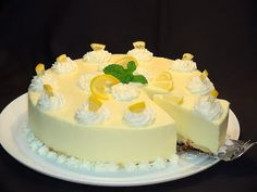 YouTube Angle Food Cake Recipes, Jello Recipes, Lemon Recipes, Sweet Recipes, Dessert Recipes, Cold Desserts, Frozen Desserts, Gluten Free Desserts, No Bake Desserts