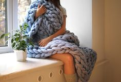 How To Make These Cozy Blankets